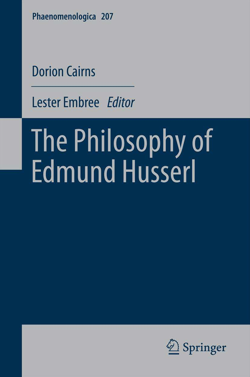 The Philosophy of Edmund Husserl Book Cover