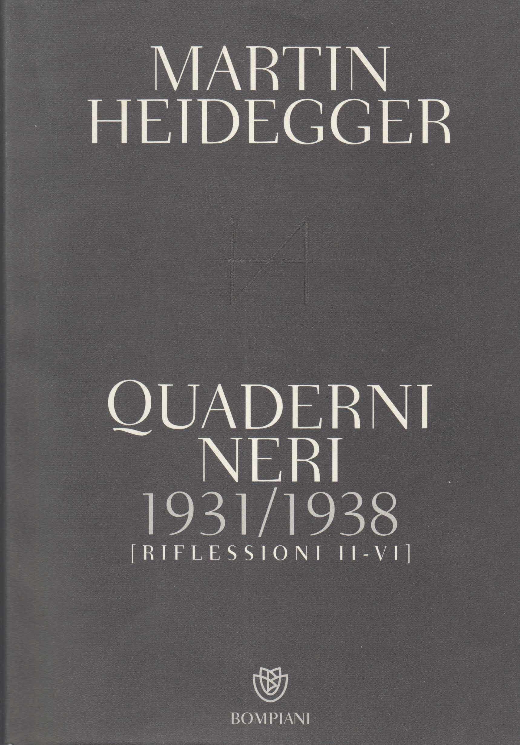 Quaderni neri 1938-1939. Riflessioni VII-XI Book Cover