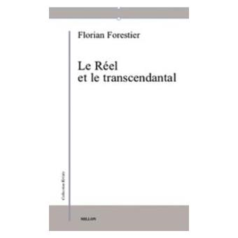 Le Réel et le transcendantal Book Cover