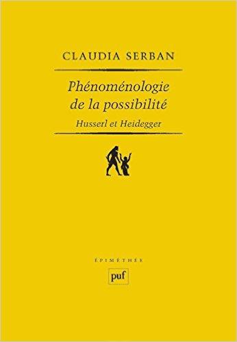 Phénoménologie de la possibilité : Husserl et Heidegger Book Cover