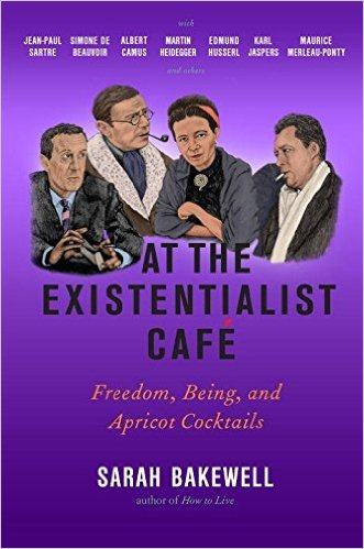 At the Existentialist Café: Freedom, Being, and Apricot Cocktails Couverture du livre
