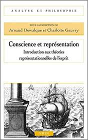 Conscience et Représentation: Introduction aux théories representationnelles de l'esprit Book Cover