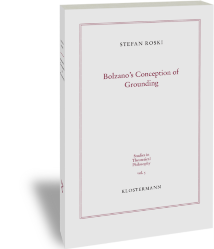 Bolzano's Conception of Grounding Couverture du livre