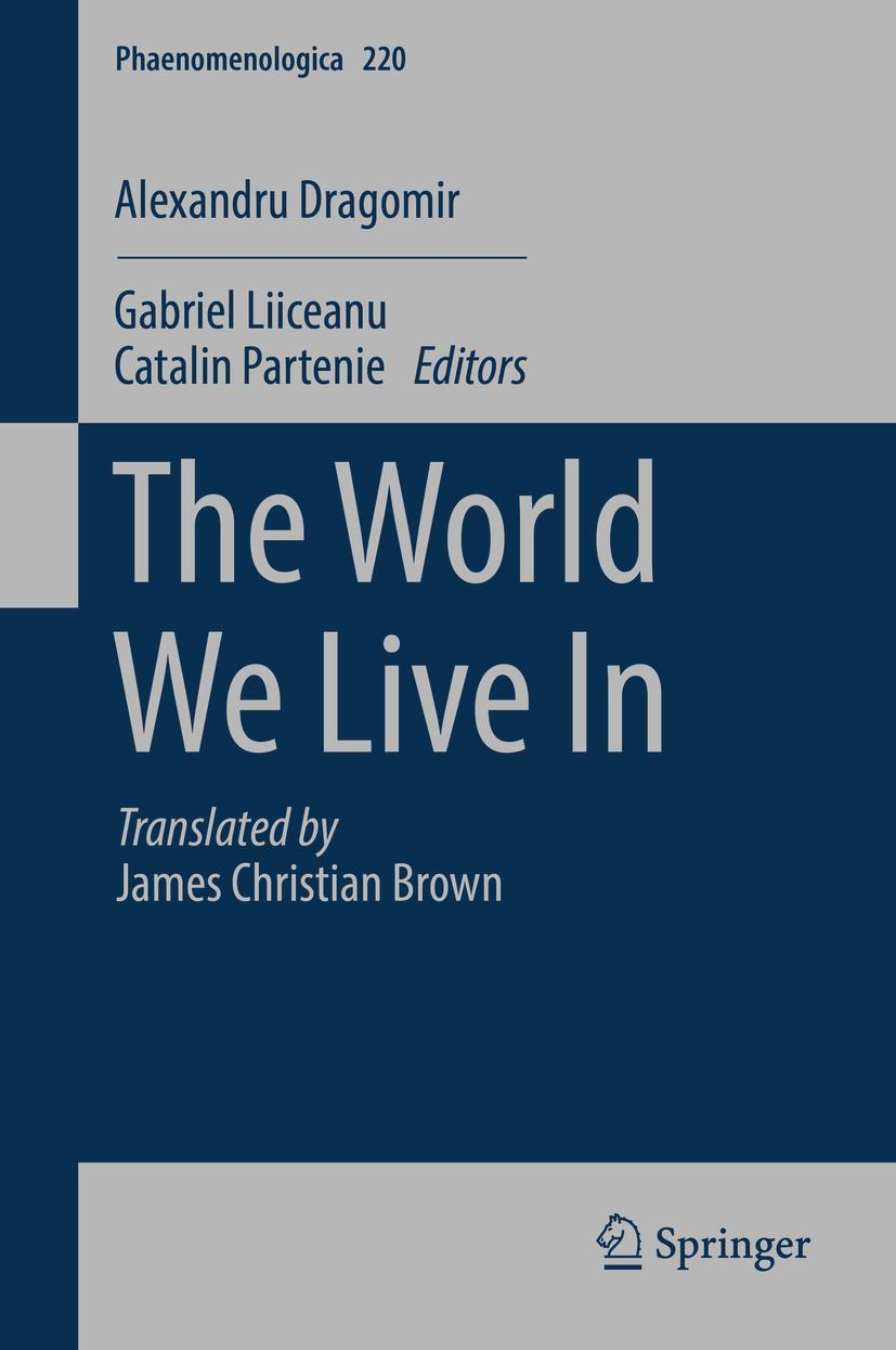 The World We Live In Book Cover