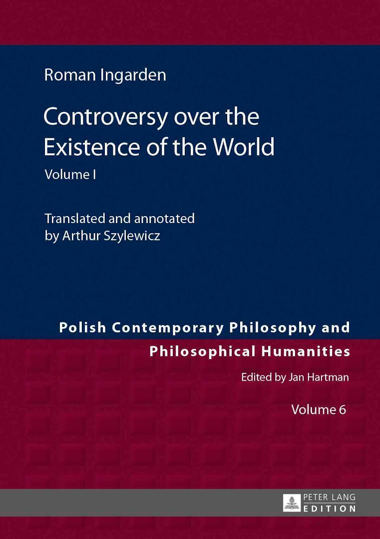 Controversy Over the Existence of the World, Vol. I Book Cover
