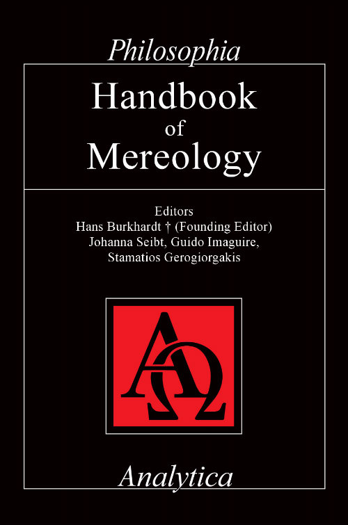 Handbook of Mereology Book Cover