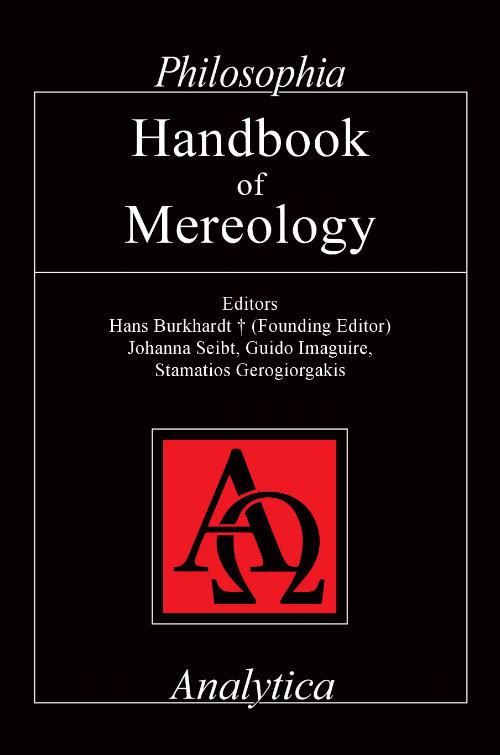Handbook of Mereology Couverture du livre
